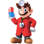SSB4 Sprite Dr. Mario 1