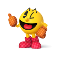 SSB4 Sprite Pac-Man 7