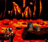 DKC2 Screenshot Lava-Samba 7
