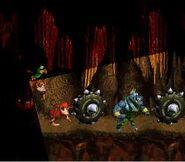 DKC Screenshot Glühbirnen Drama