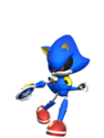 M&S3 Artwork Metal Sonic
