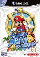 Super Mario Sunshine обложка UK