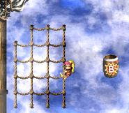 DKC2 Screenshot Schlotter-Mast 6