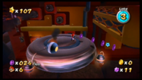 SMG Purple Coins on the Battlerock.png