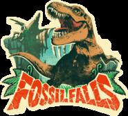 Fossil Falls Sticker