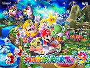 Illustration Mario Party 9