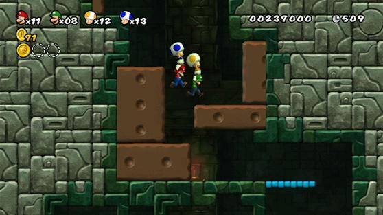 Mundo 1-Fortaleza (New Super Mario Bros. Wii)