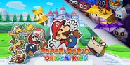 Paper Mario The Origami King key artwork