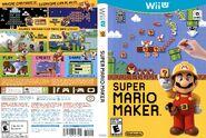 Super Mario Maker Case - Wii U - Front and Back