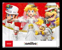 Amiibo-SuperMarioOdyssey-Mario&Peach&Bowser(Pack)
