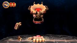 DKCR Screenshot 8-B Großer Tiki macht Terror (Nach 1 Treffer).PNG