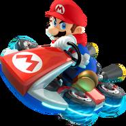 Mario Artwork for MK8