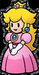 Papier-Prinzessin Peach