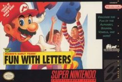 Mario's Early Years! Fun with Letters