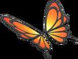 MKT Sprite Abendrot-Schmetterling