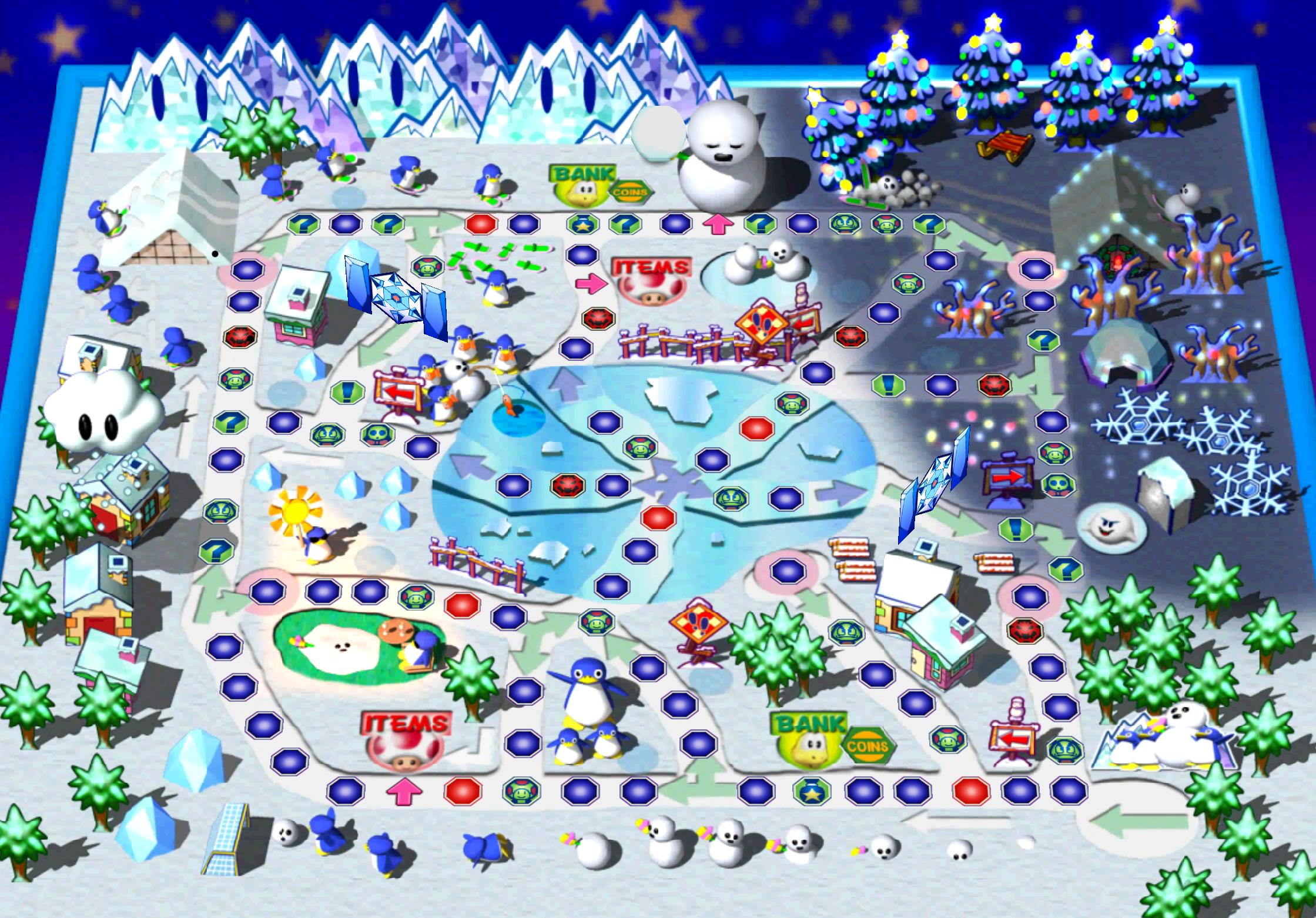 Eisige Ebenen
