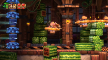 DKCTF Screenshot 5-3 Melone zum Quadrat (Nähe N).PNG