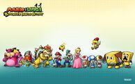 Mario y luigi dentro de bowser