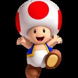 Artwork Toad Super Mario 3D Land