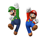 NSMB Artwork Mario & Luigi