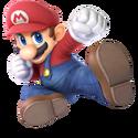 SSBU Artwork Mario