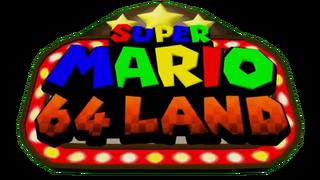 Super Mario 64 Land Logo.png