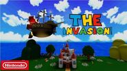 Super Mario Escape From Bowser Island The Invasion!