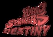 Mario Strikers Destiny logo