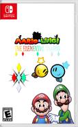 Mario & Luigi The Elemental Shards Box Art