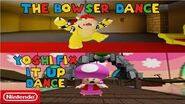 Super Mario- Escape From Bowser Island - Dance Clips