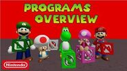 Super Mario Escape From Bowser Island Programs Overview