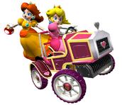 Peach y Daisy (mkdd)