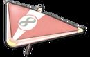 MK8 Pink Gold White Super Glider