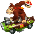 Donkey Kong Art - Mario Kart Wii