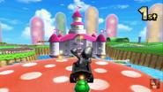 Mario Circuit 3DS Trampoline Mushroom