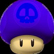SNES Poison Mushroom - Mario Kart Wii