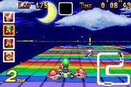 MKSC SNES RainbowRoad 2