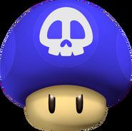 GBA Poison Mushroom - Mario Kart Wii