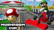 Mario Kart DS Mushroom Cup 150cc! Race to Mario Kart 8 Marathon!