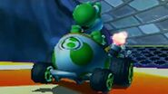 Mario Kart 7 - 150cc Star Cup Grand Prix (Yoshi Gameplay)