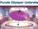 Purple Oilpaper Umbrella