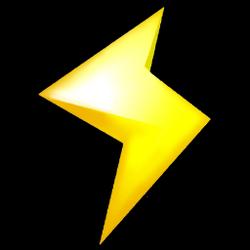 Lightning Icon - Mario Kart Wii.png