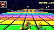 SNES MK7 Rainbow Road3