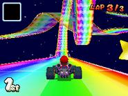 MKDS Rainbow Road Loop