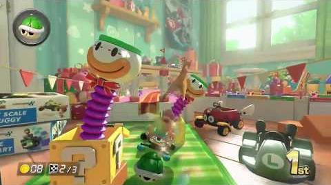 Mario Kart 8 Deluxe Gameplay