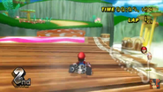 Mushroom Gorge Wii Mario Dash Panel