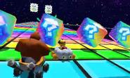 SNES MK7 Rainbow Road