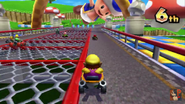 Toad Circuit 3DS Racing