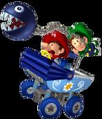 Baby Mario y Baby Luigi (mkdd)