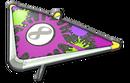 MK8D Black Purple Splats Super Glider